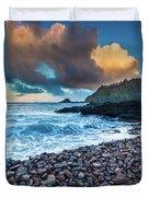 Hana Bay Pebble Beach Duvet Cover by Inge Johnsson