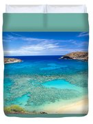 Hanauma Bay Duvet Cover by Peter French - Printscapes