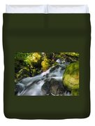 Hanson Falls Duvet Cover by Larry Ricker