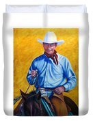 Happy Trails Duvet Cover by Shannon Grissom