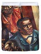 Harriet Tubman, Booker Washington Duvet Cover by Photo Researchers