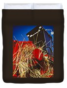 Harvesting Duvet Cover by Meirion Matthias