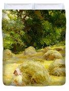 Haytime Duvet Cover by Rosa Appleton