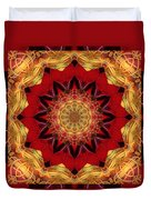 Healing Mandala 28 Duvet Cover by Bell And Todd