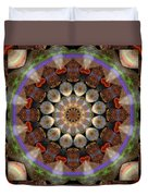 Healing Mandala 30 Duvet Cover by Bell And Todd