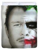 'Heath / Joker' Duvet Cover by Christian Chapman Art
