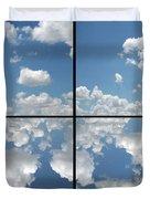 Heaven Duvet Cover by James W Johnson