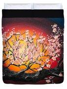 Heavenly Blossoms Duvet Cover by Olga Yakimenko