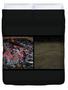 Hell Duvet Cover by James W Johnson