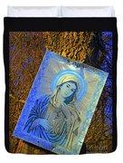 Hidden Shrine Duvet Cover by Joe Jake Pratt