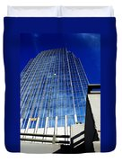 High Up To The Sky Duvet Cover by Susanne Van Hulst