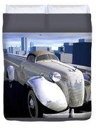 Highway Duvet Cover by Cynthia Decker