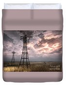 Highwire Duvet Cover by Alina Davis
