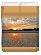 Hilton Head Beach Duvet Cover by Phill Doherty