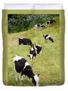 Holstein Cattle Duvet Cover by Gaspar Avila
