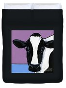 Holstein Duvet Cover by Leanne Wilkes