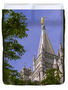 Holy Temple Duvet Cover by Chad Dutson