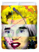 Homage To Warhol Duvet Cover by Gary Grayson