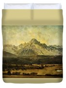 Home Series - The Grandeur Duvet Cover by Brett Pfister