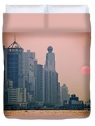 Hong Kong Island Duvet Cover by Ray Laskowitz - Printscapes