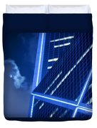Hong Kong Moonlight Duvet Cover by Ray Laskowitz - Printscapes