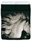 Horse Of Marly Duvet Cover by Coustou