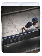 Hot And Homeless Duvet Cover by Brian Wallace