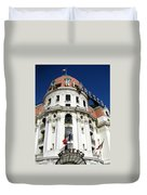 Hotel Negresco In Nice Duvet Cover by Carla Parris