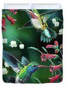 Humming Birds 2 Duvet Cover by JQ Licensing