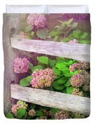 Hydrangeas Duvet Cover by JAMART Photography