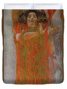 Hygieia Duvet Cover by Gustav Klimt
