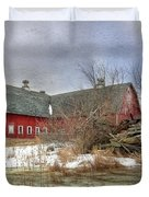 I Fall To Pieces Duvet Cover by Lori Deiter