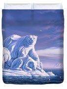 Icebeargs Duvet Cover by Jerry LoFaro