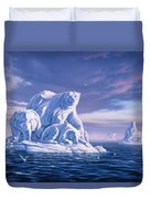 Icebeargs Duvet Cover by Jerry LoFaro