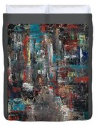 In The City Duvet Cover by Frances Marino