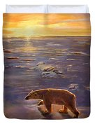 In The Wilderness Duvet Cover by Kevin Parrish