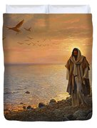 In The World Not Of The World Duvet Cover by Greg Olsen