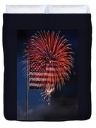 Independence Day Duvet Cover by Skip Willits