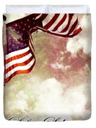 Independence Day USA Duvet Cover by Phill Petrovic