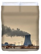Industrialscape Duvet Cover by Evelina Kremsdorf
