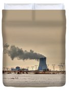 Industrialscape Duvet Cover by Evelina Kremsdorf