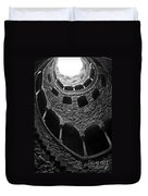 Initiation Well Duvet Cover by Carlos Caetano