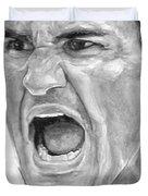 Intensity Federer Duvet Cover by Tamir Barkan