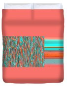 Interplay Of Warm And Cool Duvet Cover by Ben and Raisa Gertsberg