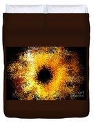 Iris Duvet Cover by Michael Garyet