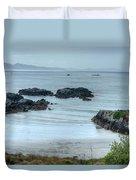 Irish Tidal Pool Duvet Cover by Douglas Barnett