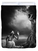 Is There Anybody Out There? Duvet Cover by Erik Brede