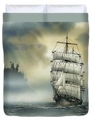 Island Mist Duvet Cover by James Williamson