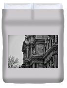 It's In The Details - Philadelphia City Hall Duvet Cover by Bill Cannon
