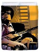 J L Hooker Duvet Cover by Paul Sachtleben